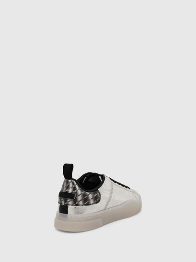 Diesel - S-CLEVER LOW LACE W, Argento - Sneakers - Image 4