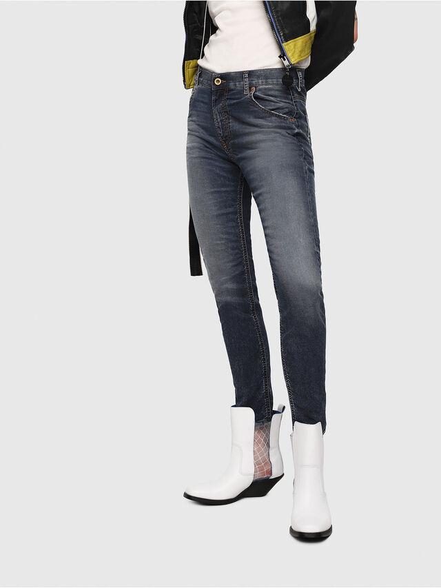 Diesel - Krailey JoggJeans 069FG, Blu Scuro - Jeans - Image 1