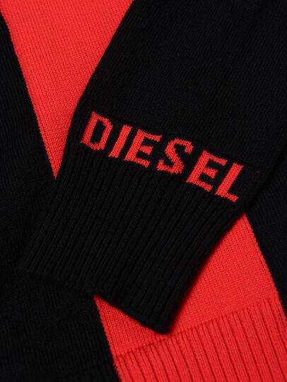Diesel - KTAPEX, Nero/Rosso - Maglieria - Image 3