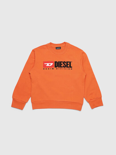 Diesel - SCREWDIVISION OVER, Arancione - Felpe - Image 1