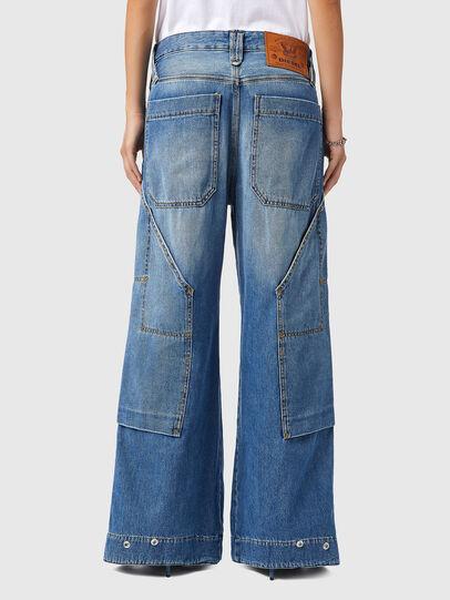 Diesel - D-Laly 0AFAM, Blu medio - Jeans - Image 2