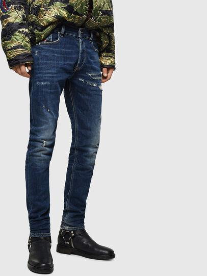 Diesel - Tepphar 0890R, Blu Scuro - Jeans - Image 1