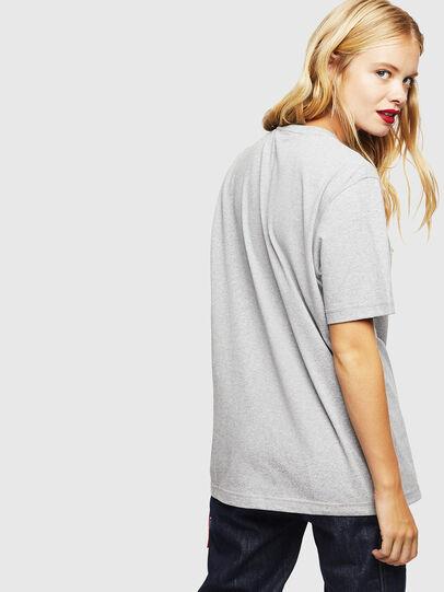 Diesel - CC-T-JUST-COLA, Grigio - T-Shirts - Image 4