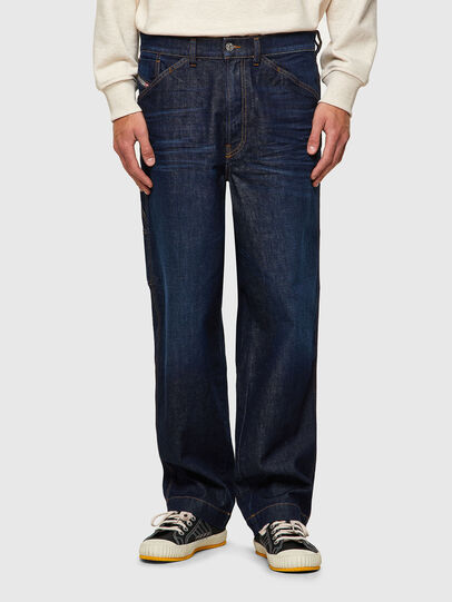 Diesel - D-Franky 09A12, Blu Scuro - Jeans - Image 1