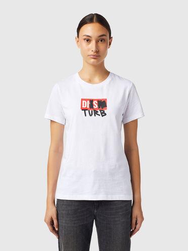 T-shirt con logo DISTURB