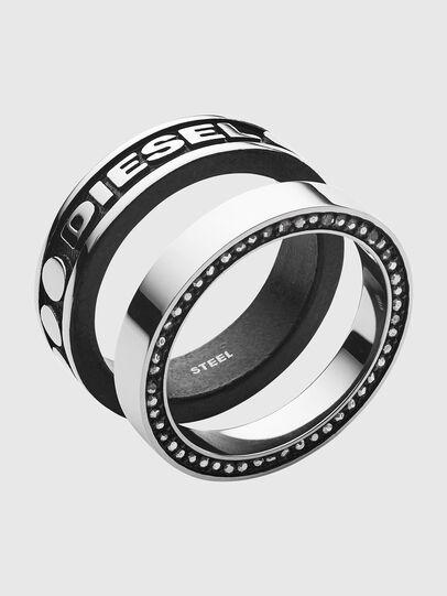 Diesel - DX1170, Argento/Nero - Anelli - Image 1
