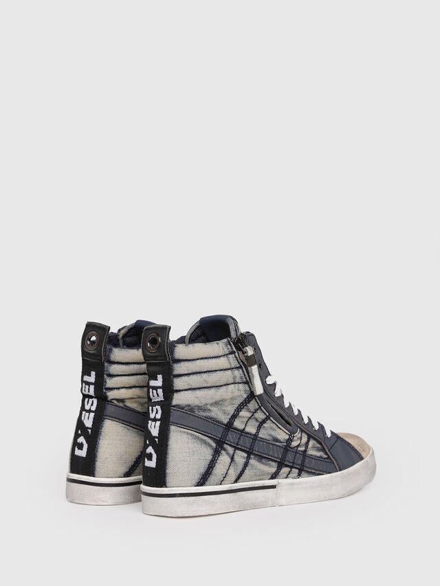 Diesel - D-VELOWS MID LACE, Blu Jeans - Sneakers - Image 3