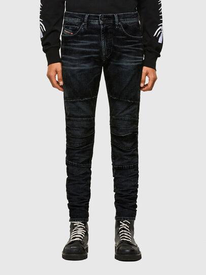 Diesel - D-Strukt JoggJeans® 069TG, Nero/Grigio scuro - Jeans - Image 1