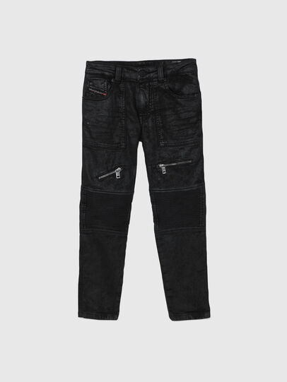 Diesel - D-DERROT-SP-J JOGGJEANS, Nero - Jeans - Image 1
