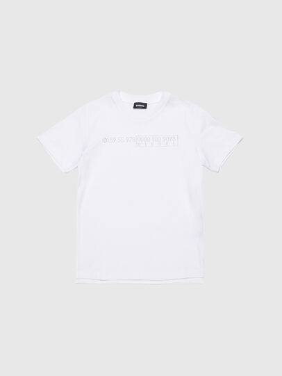 Diesel - TDIEGOSLITSJ6, Bianco - T-shirts e Tops - Image 1