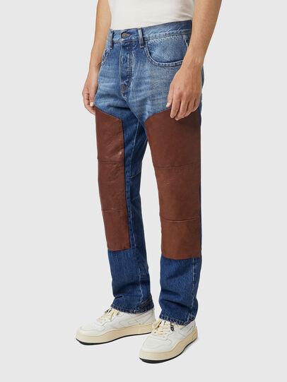 Diesel - D-Viker 0KDAV, Blu/Marrone - Jeans - Image 5