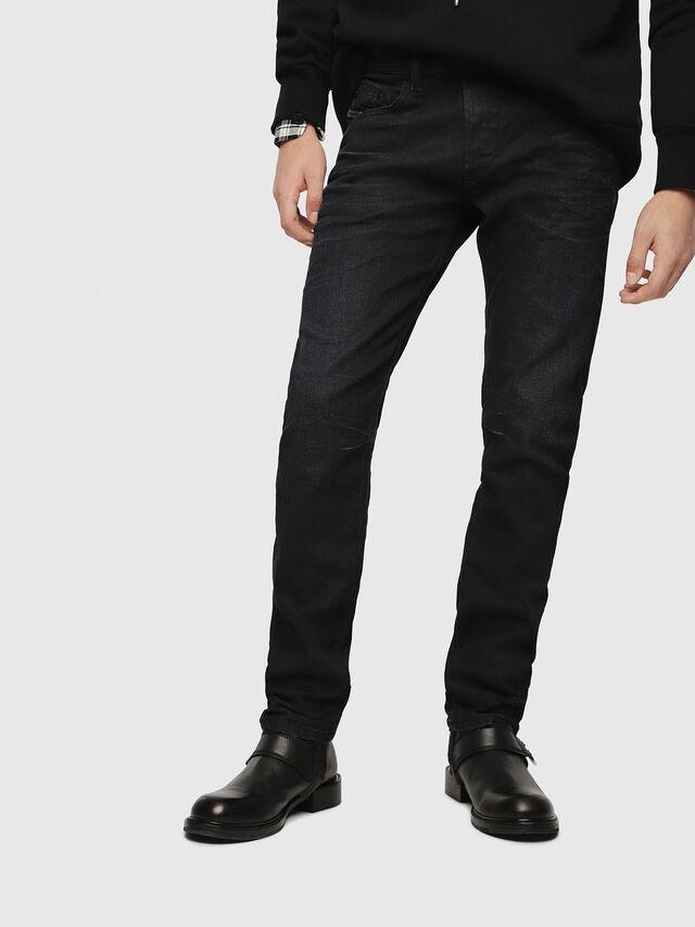 Diesel - Belther 087AU, Blu Scuro - Jeans - Image 1
