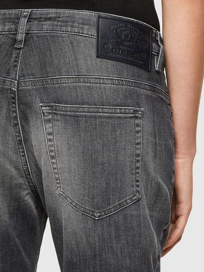 Diesel - Fayza JoggJeans® 009QT, Nero/Grigio scuro - Jeans - Image 4
