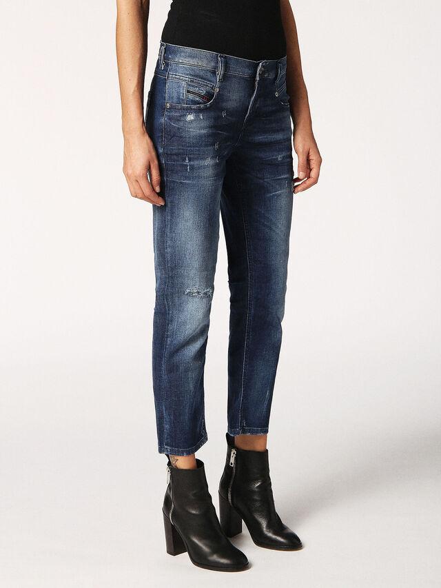 BELTHY-ANKLE 084MX, Blu Jeans