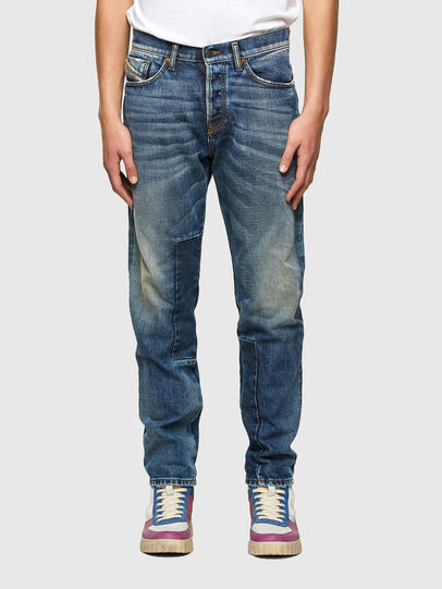 Diesel - D-Fining 009SV, Blu medio - Jeans - Image 1