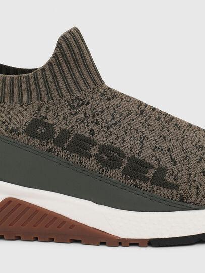 Diesel - S-KB SOCK QB, Verde Oliva - Sneakers - Image 4