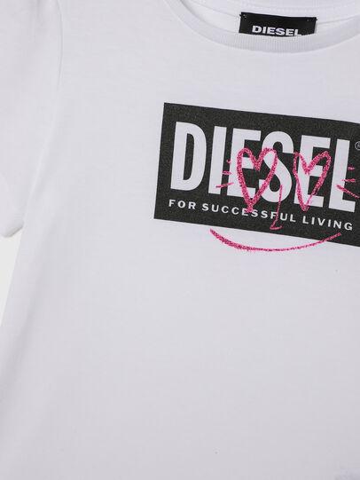 Diesel - TRIDGEB-R, Bianco - T-shirts e Tops - Image 3