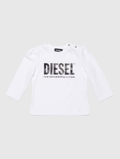 Diesel - TRASSYB, Bianco - T-shirts e Tops - Image 1