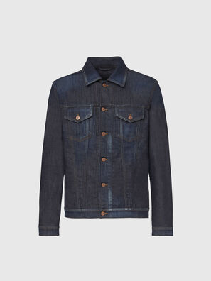 NHILL-TW, Blu Scuro - Giacche in denim