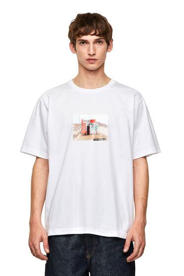 T-shirt senza cuciture con stampa fotografica