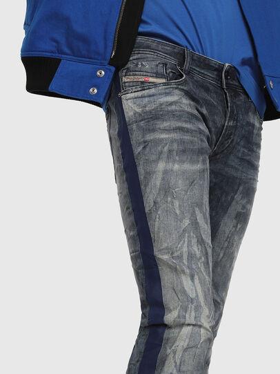 Diesel - Sleenker 069DH, Blu Scuro - Jeans - Image 3