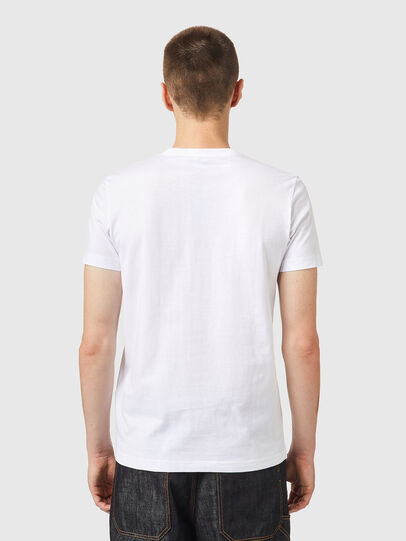 Diesel - T-DIEGOS-K26, Bianco/Rosso - T-Shirts - Image 2