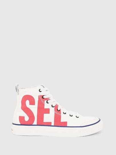 Diesel - S-ASTICO MC W, Bianco/Rosso - Sneakers - Image 1
