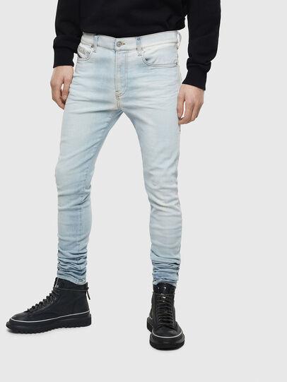 Diesel - D-Amny 009BE, Blu Chiaro - Jeans - Image 1