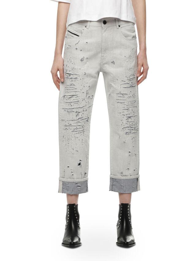 Diesel - TYPE-1815, Bianco - Jeans - Image 1