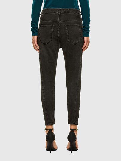 Diesel - Fayza JoggJeans 009HM, Nero/Grigio scuro - Jeans - Image 2