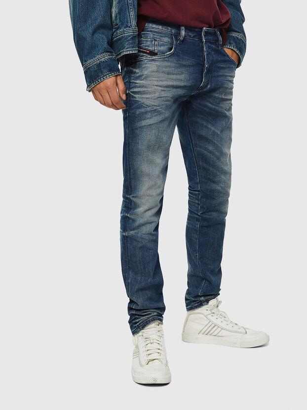 D-Bazer 0090D, Blu medio - Jeans