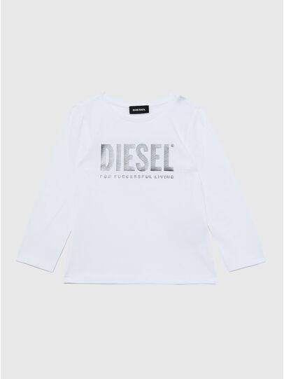 Diesel - TRASSYB-R, Bianco - T-shirts e Tops - Image 1