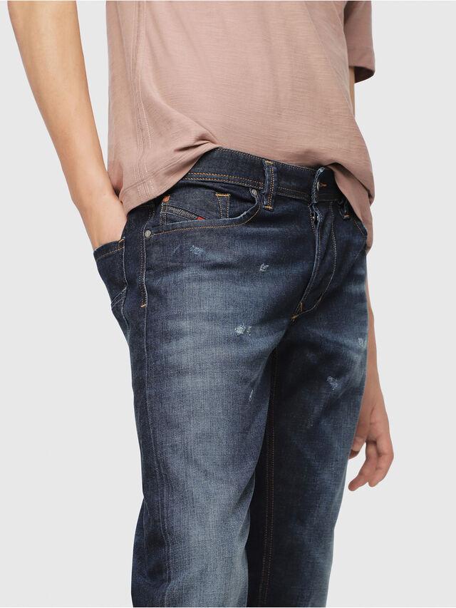 Diesel - Larkee 087AN, Blu Scuro - Jeans - Image 3
