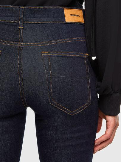 Diesel - D-Roisin 0098L, Blu Scuro - Jeans - Image 4