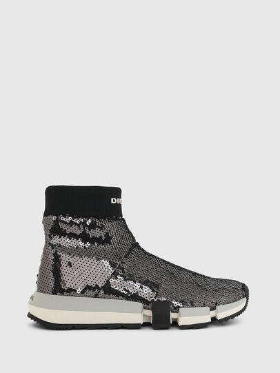 Diesel - H-PADOLA SOCK W, Nero - Sneakers - Image 1