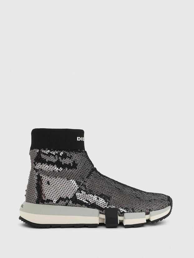 H-PADOLA SOCK W, Nero - Sneakers
