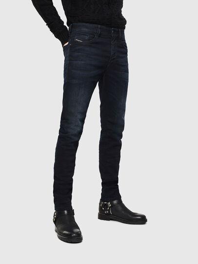 Diesel - Thommer 084AY, Blu Scuro - Jeans - Image 1