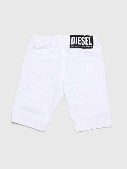 Diesel - KROOLEY-NE-J SH, Bianco - Shorts - Image 2