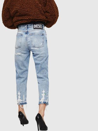 Diesel - Aryel 0078L, Blu Chiaro - Jeans - Image 2