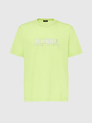 T-JUST-SLITS-X85, Verde Fluo - T-Shirts