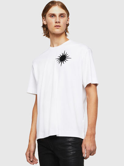 Diesel - TEORIALE-X1, Bianco - T-Shirts - Image 1