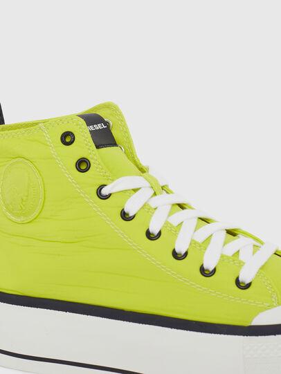 Diesel - S-ASTICO MC WEDGE, Giallo - Sneakers - Image 4