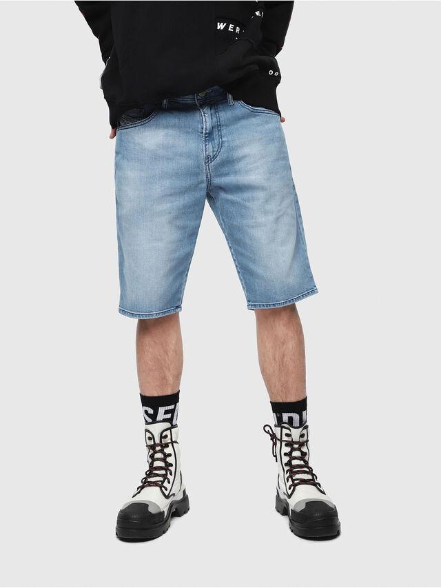 Diesel THOSHORT, Blu Chiaro - Shorts - Image 1