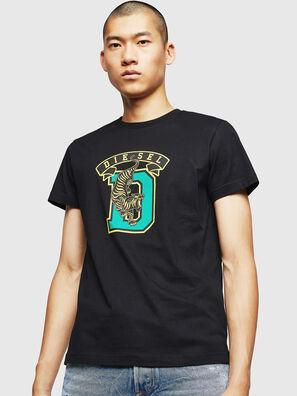 T-DIEGO-B4, Nero - T-Shirts