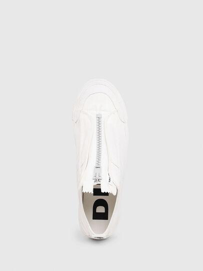Diesel - S-ASTICO LOW ZIP SP, Bianco - Sneakers - Image 4
