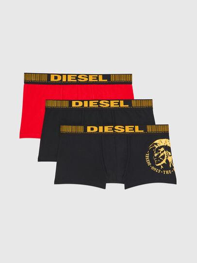 Diesel - UMBX-DAMIENTHREEPACK, Nero/Oro - Boxer stretch - Image 1