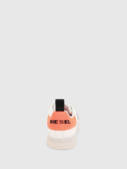 Diesel - S-CLEVER LOW STRAP W, Bianco/Rosa - Sneakers - Image 4