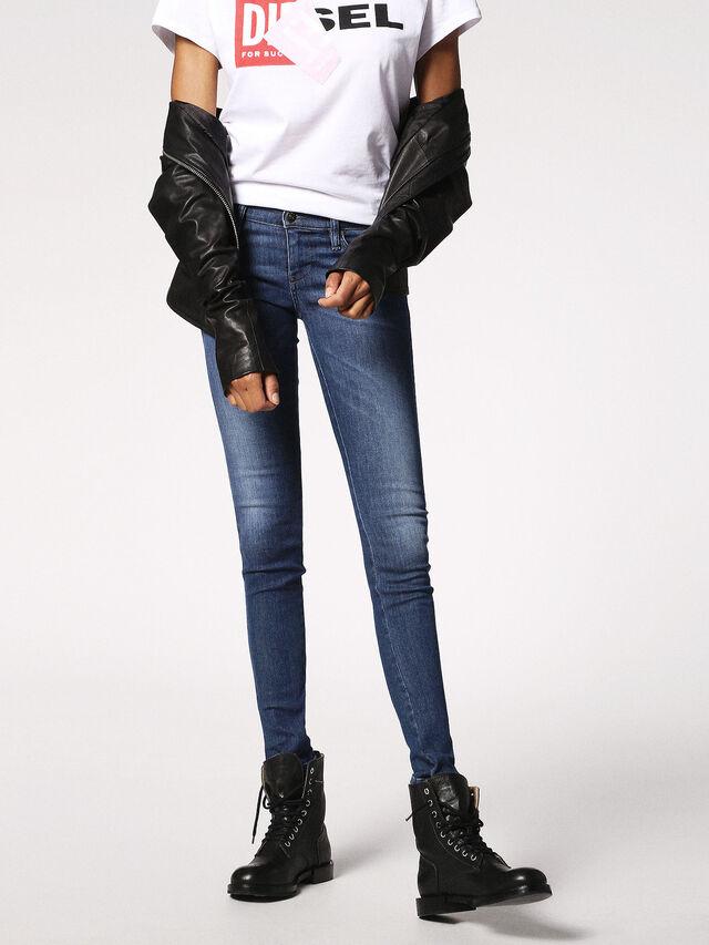 SKINZEE-LOW 0848L, Blu Jeans