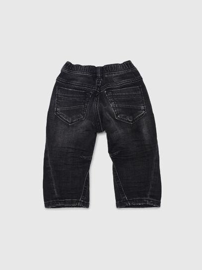 Diesel - FAYZA JOGGJEANS B-N, Nero/Grigio scuro - Jeans - Image 2