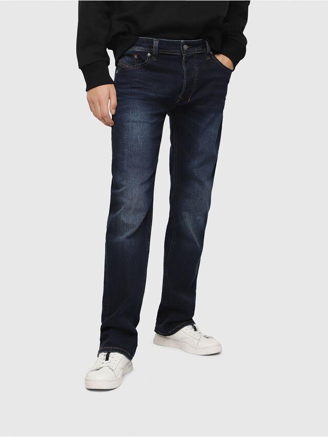 Diesel - Larkee C84VG, Blu Scuro - Jeans - Image 1